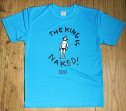 Tシャツ  The King Is Naked 色:Blue