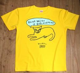 Tシャツ  CAT  色:Yellow