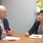 130702_岩上安身による みどりの風代表 谷岡郁子議員インタビュー