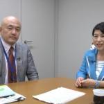 130701_岩上安身による社民党党首 福島みずほ議員インタビュー_1