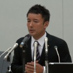 130806_山本太郎参議院議 離婚報道に関する記者会見
