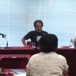 130826 伊佐真次さん・安次嶺現達さん記者会見