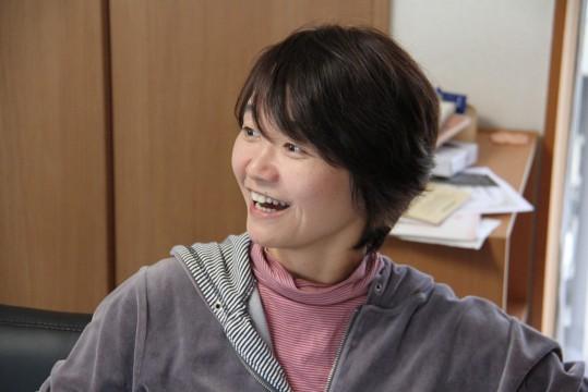 ▲明るくインタビューに応えてくれた藤田さん