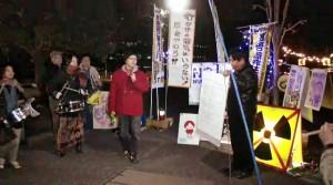 2013/11/22 【茨城】第65回原電いばらき抗議アクション
