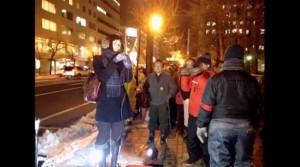 2013/12/20 【北海道】北海道庁北門前反原発抗議行動