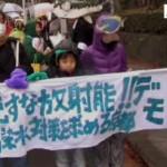 2013/12/21 【京都】流すな放射能!汚染水対策を求める京都デモ