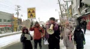 2013/12/29 【北海道】大間原発反対年末締めくくり講演会 アーサー・ビナード ウォーク&講演会