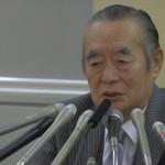 140108_東京都知事選挙 ドクター中松候補 記者会見