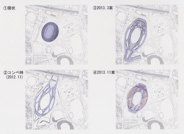 ▲図1 現状と計画変更の経緯(作成/提供:古市徹雄)