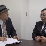 インタビューに応える片山氏