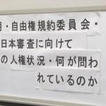 140422_NGO共同・事前記者ブリーフィング 日本の人権状況・何が問われているのか?