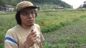 140525_【京都】経ヶ岬Xバンドレーダー基地建設に反対する釜淵大樹氏インタビュー