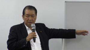 140528_日本政策学校 鳩山邦夫 元総務大臣 元法務大臣 講義 「保守政治における環境政策」