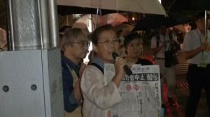 140901_沖縄・辺野古の海に杭はうたせない!防衛省前抗議行動