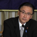140901_日本外国特派員協会主催 古屋圭司・拉致問題担当大臣 記者会見
