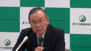 140918_原子力規制委員会 大島賢三委員 退任会見