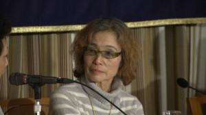 150123_日本外国特派員協会主催 イスラム国に拘束された後藤健二氏の母親による記者会見