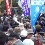 150222_eyecatch【沖縄】市民2名が米軍に拘束されたことに対する名護署前での抗議-