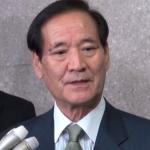 ▲西川公也氏(2015年1月13日の定例会見で)