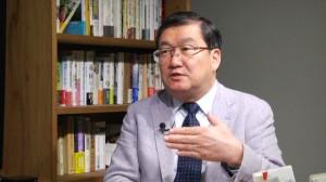 150507_岩上安身による法政大学法学部教授・下斗米伸夫氏インタビュー