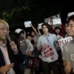 150612_SEALDs主催 戦争立法に反対する国会前抗議行動