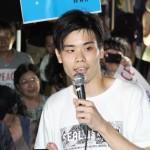 20150731_SEALDs KANSAI_津田研人さん