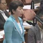 【安保法制国会ハイライト】「なぜ総理自身がお詫びをしないのか」――福島みずほ議員が「主語」を抜かした「不誠実」な安倍談話に異議!
