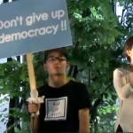 【大阪】SEALDs KANSAI 戦争法案に反対する金曜街宣アピール