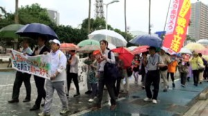 8.29やまぐちアクション 安保法制反対県内一斉デモ ―下関地区