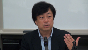 日本平和学会主催・安保法制に関する緊急記者会見