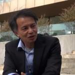 150922_【ジュネーブ】藤田早苗氏による沖縄・生物多様性ネットワークセンター共同代表吉川秀樹氏へのインタビュー