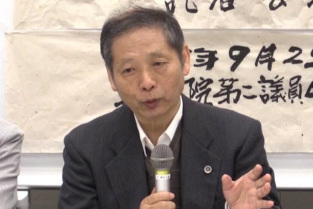 澤藤統一郎氏弁護士