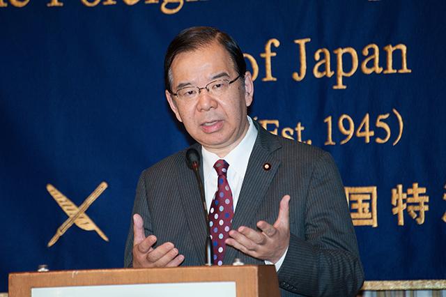▲志位和夫 日本共産党委員長