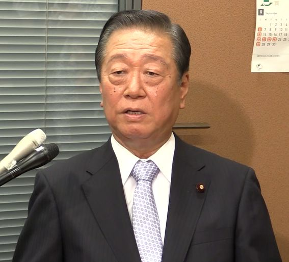 小沢一郎共同代表