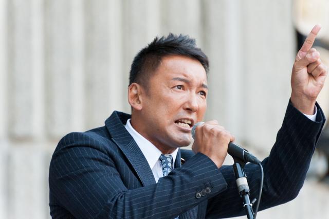 ▲参議院議員・山本太郎氏
