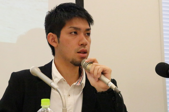 SEALDs、SEALDs RYUKYUのメンバーで沖縄県出身の元山仁士郎さん