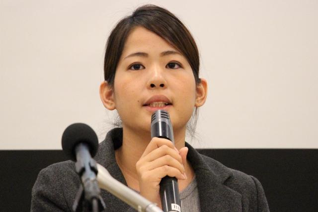 SEALDs RYUKYUの玉城愛さん