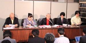東電株主代表訴訟 第21回口頭弁論期日後の記者会見