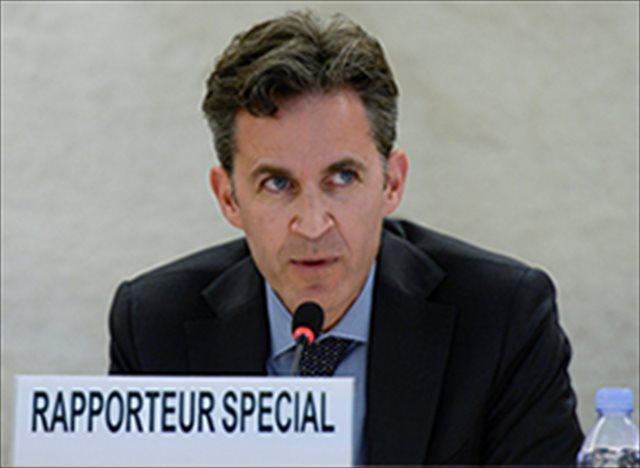 ↑今回、国連「表現の自由」特別報告者として日本にはじめて公式訪問する、デイビット・ケイ氏(国連webより)