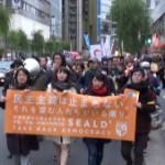 151206_KEEP CALM AND NO WAR★1206銀座大行進 ―安保関連法の廃止を求める学生・学者・市民の共同行動―