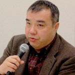 ▲「市民連合」について説明する中野晃一上智大教授
