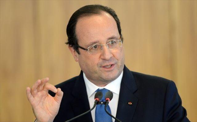 ▲緊急状態法を適用させたフランスのオランド大統領