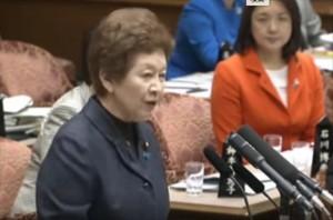 ▲蓮池透さんを「工作関係者に利用されている」と誹謗中傷する中山恭子議員