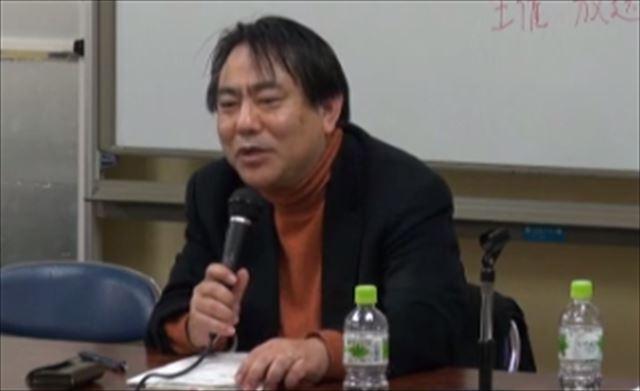 ▲砂川浩慶氏(立教大学准教授)