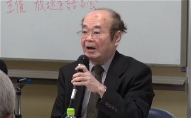 ▲門奈直樹氏(立教大学名誉教授)