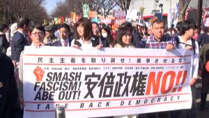 160214_安倍政権NO!☆ 0214大行進 in 渋谷 民主主義を取り戻せ!戦争させるな!