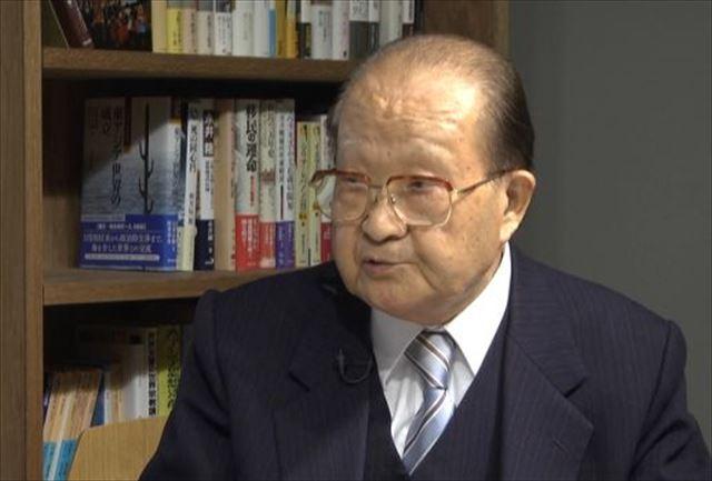 ▲中央大学・富岡幸雄名誉教授―2014年12月1日、IWJ事務所で岩上安身がインタビュー