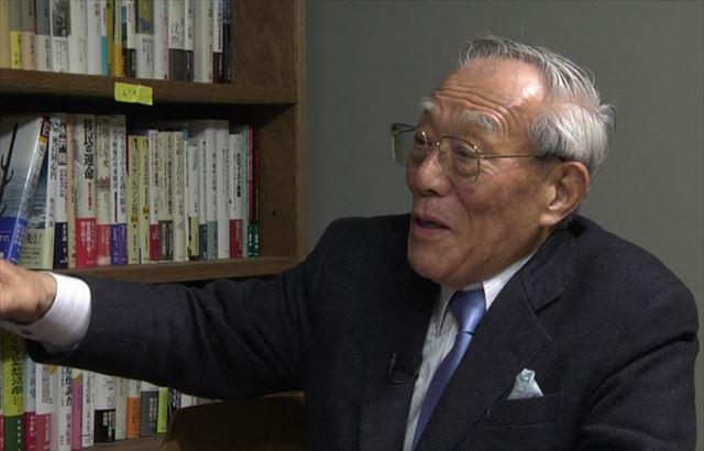 ▲経済アナリストの菊池英博氏―2014年11月22日、IWJ事務所で岩上安身がインタビュー