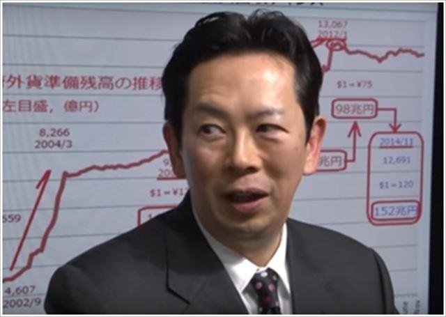 ▲政治経済学者の植草一秀氏 ― 2014年11月25日、IWJ事務所で岩上安身がインタビュー