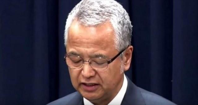 ▲大臣を辞任した甘利明氏